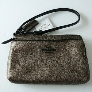 Coach New York Wallet Wristlet Clutch